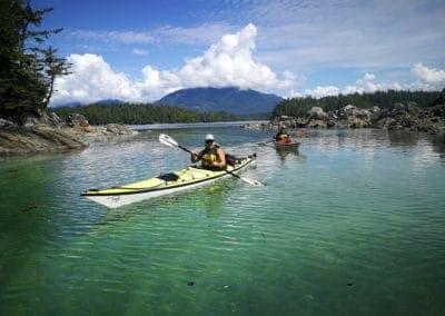 Broken Group Islands kayaking